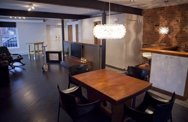 Entrant Clients Vont Directement Studio Renovation Pour Vivre Travailler La Fois Marie