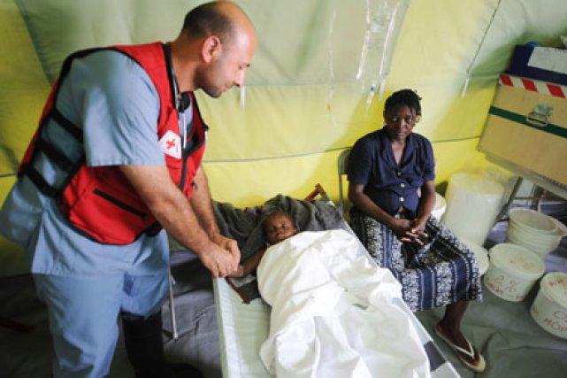 L'épidémie de choléra en Haïti a fait 3333... (Photo: Reuters)