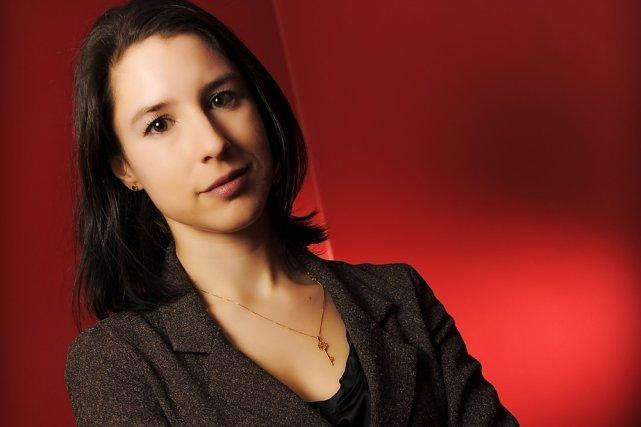 Perrine Leblanc... (Photo: Bernard Brault, La Presse)