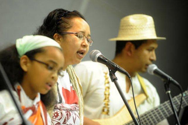Gasy Kanto, c'est l'esprit du Madagascar ici même,... (Imacom Charles-Antoine Auger)