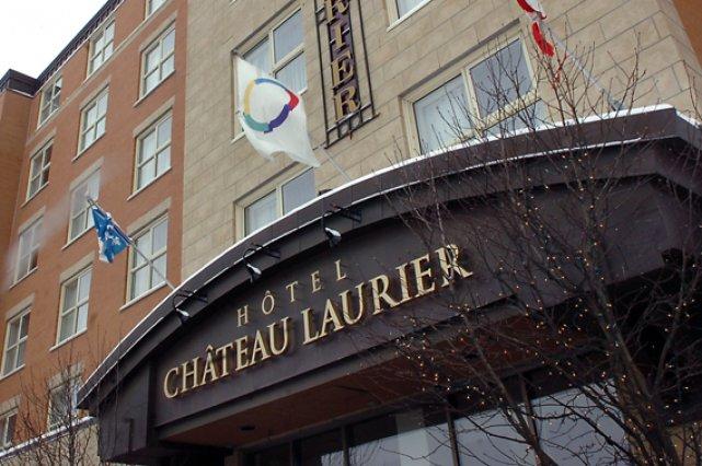 L'Hôtel Château Laurier mise désormais sur le français... (Le Soleil, Jean-Marie Villeneuve)