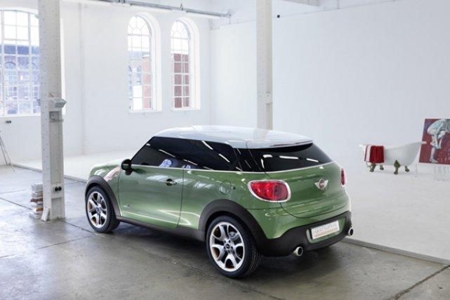 La Paceman, une Mini destinée à une clientèle... (Photo fournie par Mini/BMW)