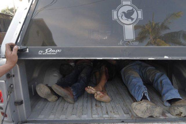 «La prétendue guerre contre le crime du président... (Photo: AP)