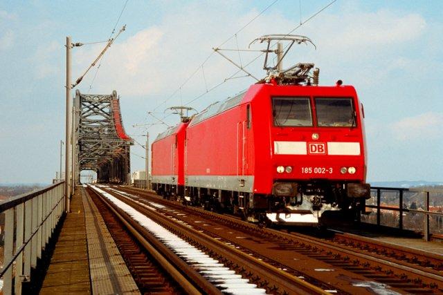 Un train TRAXX de Bombardier.... (Photo fournie par Bombardier)