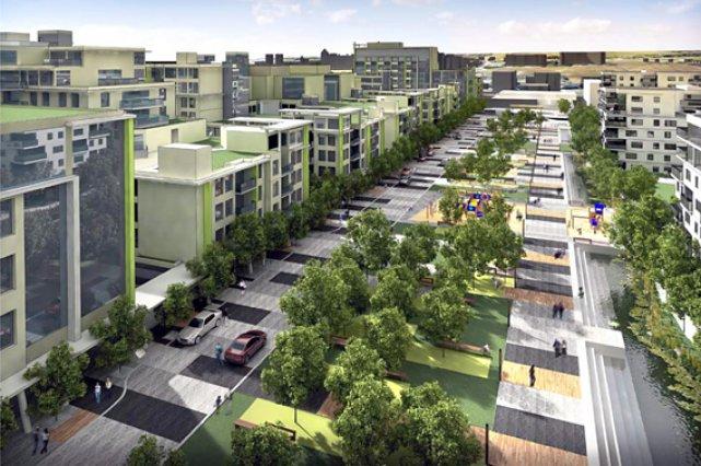 Projets résidentiels nouveaux en Amérique du Nord, les... (Photothèque Le Soleil)