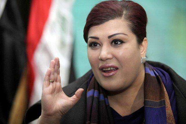 Safia al-Souhaïl, députée de la liste de l'État... (Photo: AP)