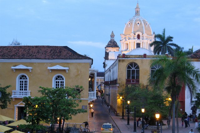 La vieille ville de Carthagène, en Colombie.... (Photo: Mario Fontaine, La Presse)