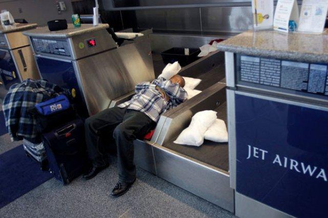 À l'aéroport international John F. Kennedy de New... (PHOTOS ASSOCIATED PRESS)
