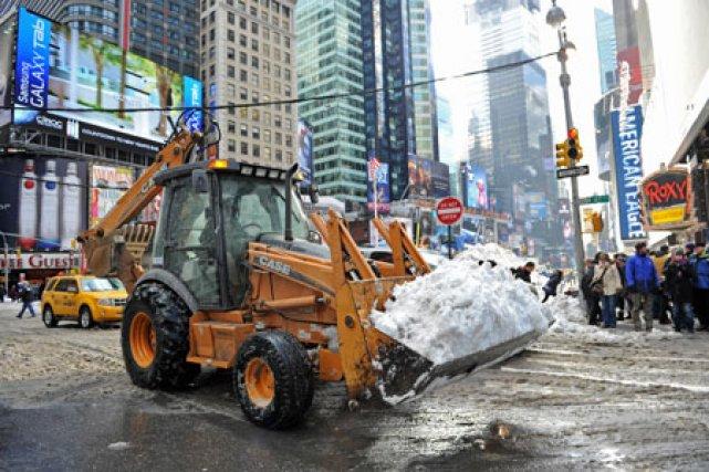 Les États-Unis se relèvent difficilement de la tempête... (Photo: AFP)