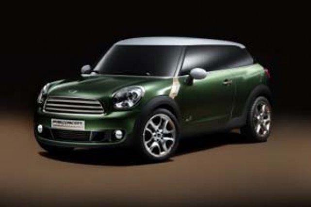 Le  concept d'une version sportive de la légendaire Mini sera présenté  lors ...