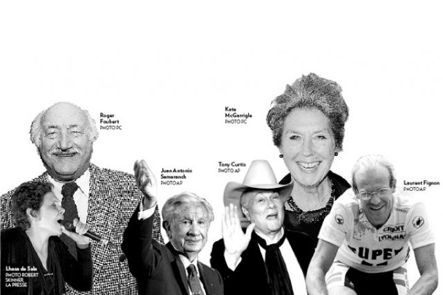 Ils ont marqué, à leur façon, le monde du syndicalisme, de la politique, des... (Photomontage La Presse)