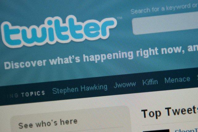 Le nombre de comptes Twitter a bondi de... (Photo: AFP)