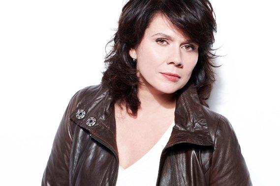 La comédienne Marina Orsini...