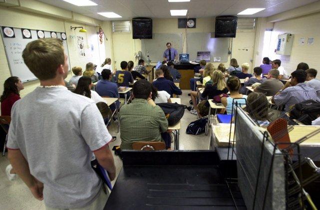 Dans cette «nouvelle» école, on n'enseigne plus à... (PHOTO: MIKE LANG, ARCHIVES AP)