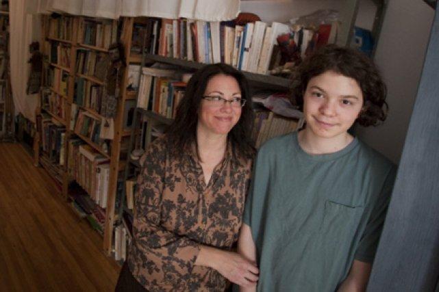 Loïc Reid-Gaudet, 14 ans (que l'on voit sur... (Photo: Ivanoh Demers, La Presse)
