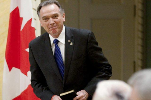 Le nouveau ministre de l'Environnement, Peter Kent.... (Photo: PC)