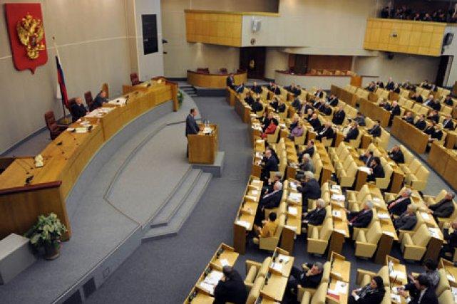 La Douma, la chambre basse du Parlement russe.... (Photo: AFP)