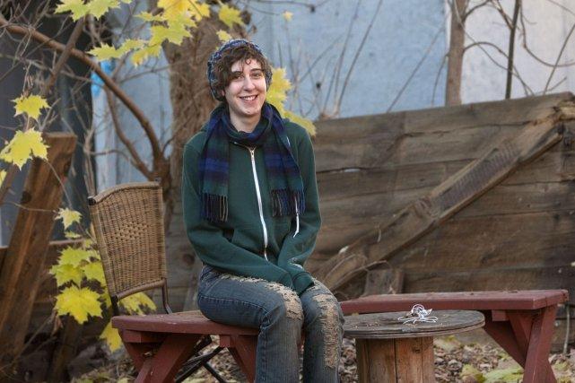 Idzie Desmarais, 19 ans... (Photo: Robert Skinner, La Presse)