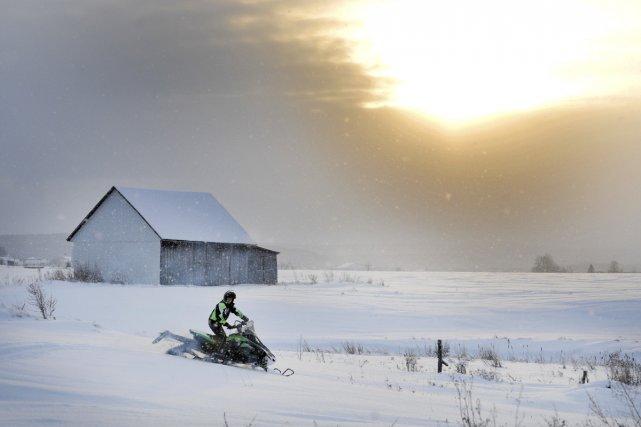 Le Québec regorge de beaux endroits où pratiquer... (Photo archives Le Quotidien)