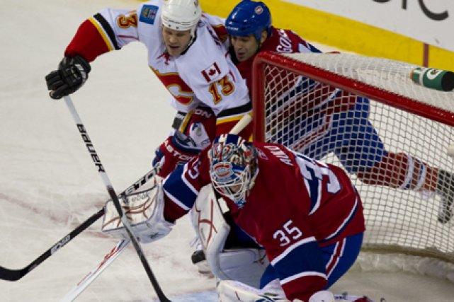Il ne faut jamais rien prendre pour acquis dans un match de hockey. Même si les... (Photo: André Pichette, La Presse)