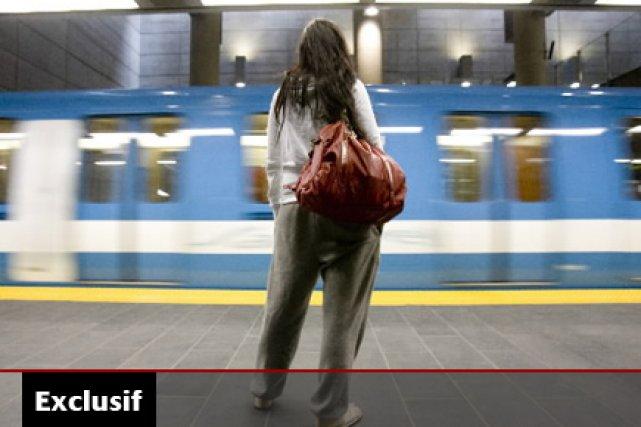 Le prolongement du métro de Montréal devrait être... (Photo: Martin Tremblay,  La Presse)