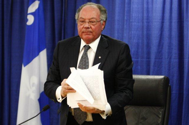 Michel Bastarache a dévoilé mercredi son rapport de... (Photo: Simon Boivin, Le Soleil)