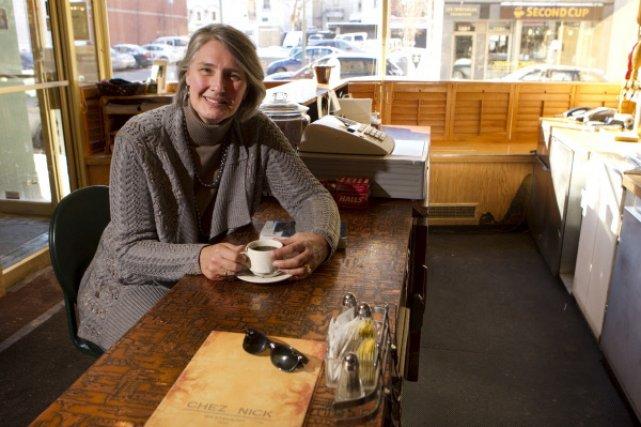 Louise Penny raconte qu'elle est devenue journaliste parce... (Photo: François Roy, La Presse)