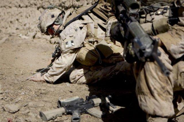 Le commandement militaire canadien ne prend pas publiquement... (Photo: AFP)