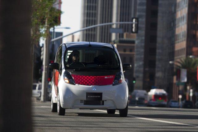 Le prix américain de la iMiEV de 20... (Photo fournie par Mitsubishi)