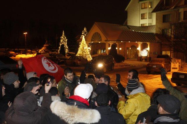 Belhassen Trabelsi, le beau-frère de l'ex-dictateur tunisien Ben... (Photo: Normand Blouin, collaboration spéciale)