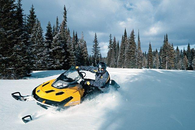 La nouvelle motoneige utilitaire Ski-Doo Skandic Tundra LT... (Photo fournie par BRP)