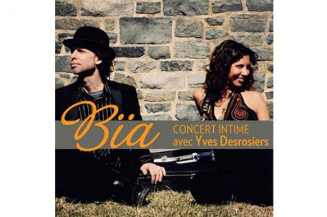 Pochette cd de Bïa...