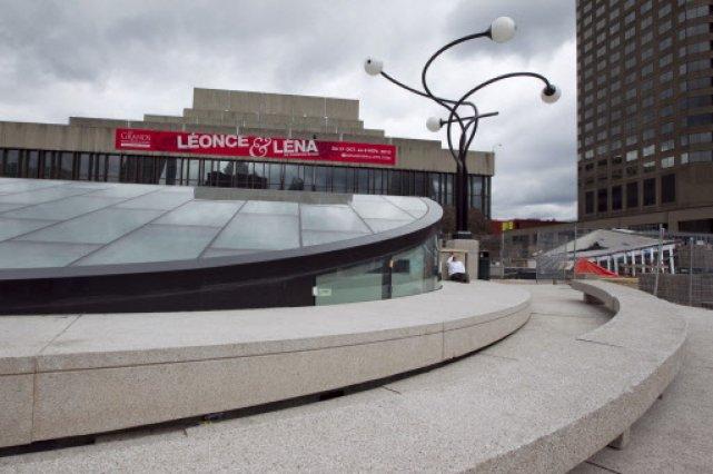 Grand Foyer Culturel De La Place Des Arts : De l audace au brise glace Éric clément arts visuels