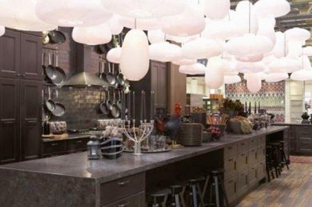 Le Noir S Invite Dans Les Cuisines Ikea Decoration