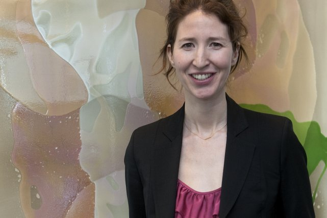 Marie-Justine Snider... (Photo: Robert Skinner, La Presse)
