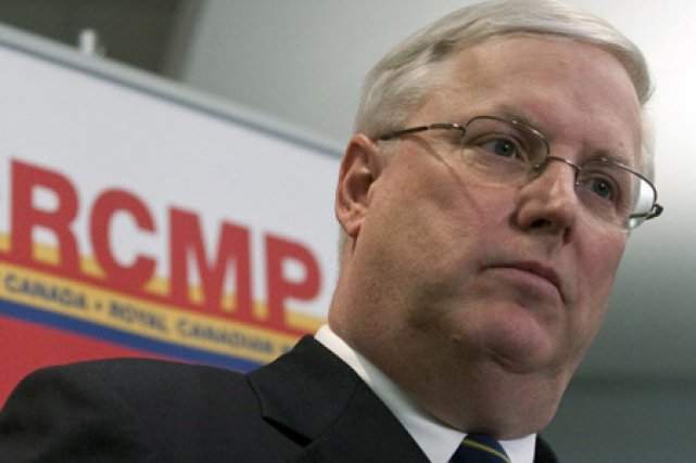 Le commissaire de la GRC, William Elliott.... (Photo: PC)