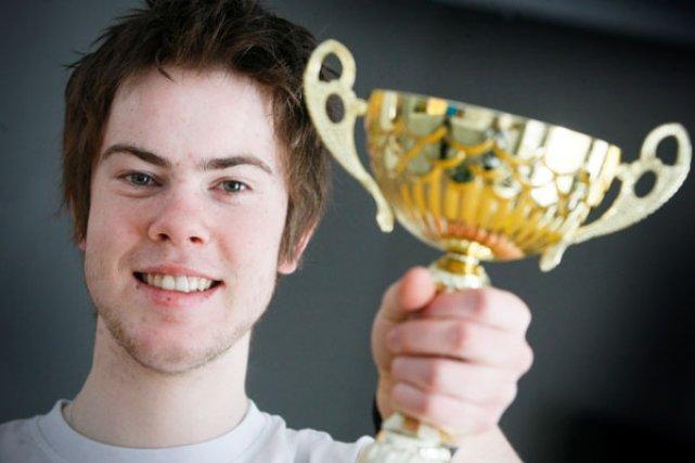 Calvin Wren a remporté la médaille d'or le... (MARTIN ROY, LeDroit)