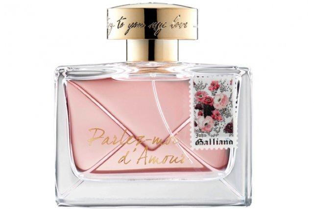 Parfum Parlez-moi d'amour de John Galliano, en primeur...