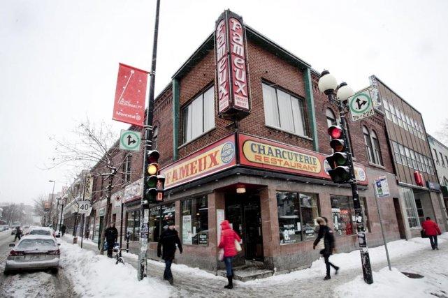 Le restaurant Le Fameux, angle de l'avenue du... (Photo: Marco Campanozzi , La Presse)