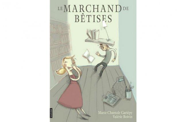 Pochette du livre Le marchand de bêtises...