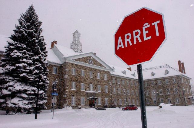 L'École nationale de police du Québec à Nicolet... (Photo: François Gervais)