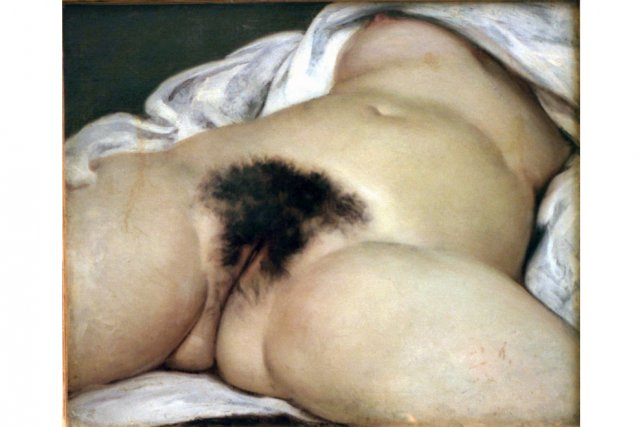 L'Origine du monde de Courbet... (Photo: archives La Presse)