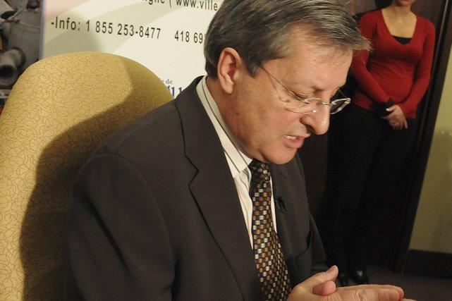 Le maire de Saguenay, Jean Tremblay, ira en... (PHOTO: ROCKET LAVOIE, LE QUOTIDIEN)