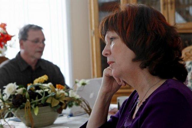 Michel Bergeron et Andrée Béchard se demandent si... (Le Soleil, Yan Doublet)