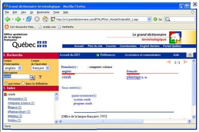 L 39 office qu b cois de la langue fran aise bien jouer tous - Office de la langue francaise dictionnaire ...