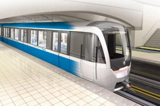 L'acquisition et la mise en circulation des 468 nouvelles voitures du métro de... (Illustration fournie par la STM)