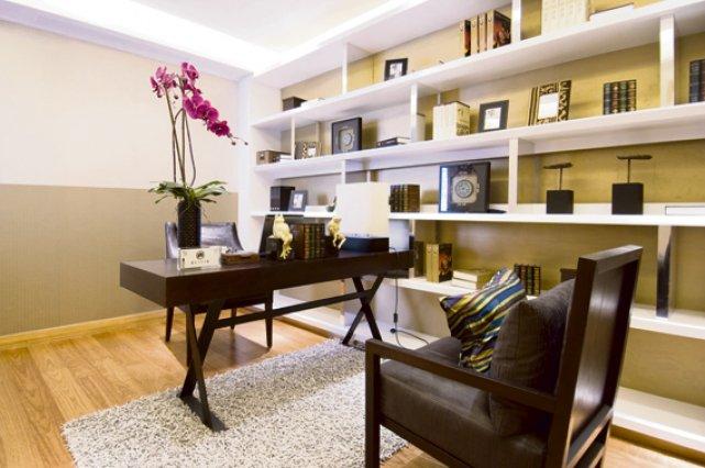 petits trucs de peinture pour agrandir une pi ce lise. Black Bedroom Furniture Sets. Home Design Ideas