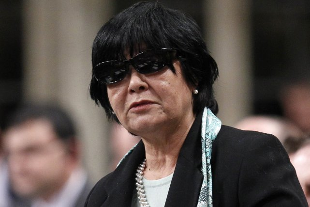 Bev Oda, ministre de la Coopération internationale du... (PHOTO: CHRIS WATTIE, REUTERS)