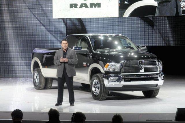 Fred Diaz, directeur de la marque Ram Trucks,... (Photo fournie par Chrysler)
