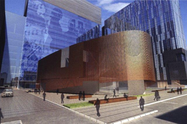 Le consortium CHUM Collectif a décroché le contrat de construction du nouveau... (Illustration fournies par le CHUM)